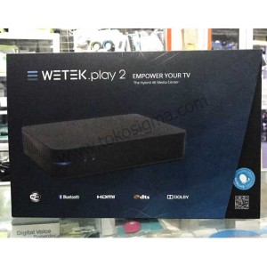 Jual DVB T2 WETEK PLAY 2 HYBRID MEDIA PLAYER 4K ANDROID TV