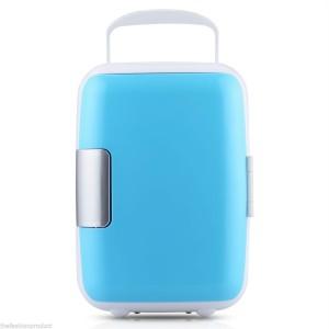 Kulkas Mini Portable untuk Mobil / Car Refrigerator Murah / Biru