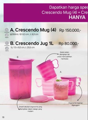 Tupperware Crescendo Mug