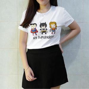 My Superheroes Tee / Tumblr Tee / Kaos Tumblr