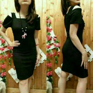 dress cut black