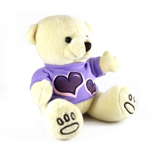 Boneka Anak Beruang Cream Menggemaskan
