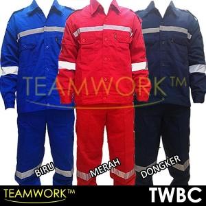 TWBC TeamWork Setelan Set Baju Celana Kerja Safety Wearpack Scotlight