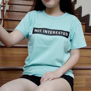 Not Interested Tee / Tumblr Tee / Kaos Tumblr