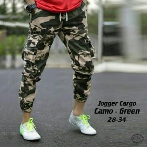 Celana Panjang Joggerpant Kargo Army / Jogger Cargo Doreng