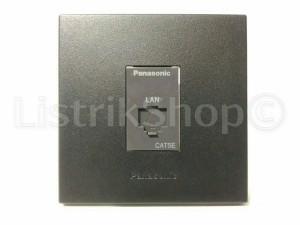 Outlet Data Cat5e Panasonic Style Black