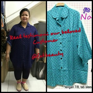 Noela dot shirt