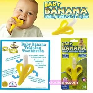 Baby Banana / Gigitan sikat bayi