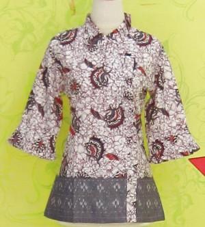 Blouse Batik C0160 Ungu
