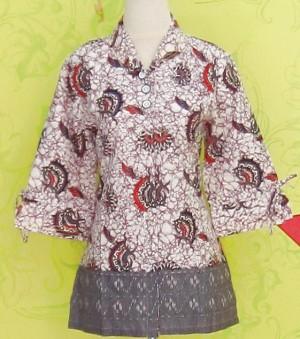 Blouse Batik C0152 Ungu