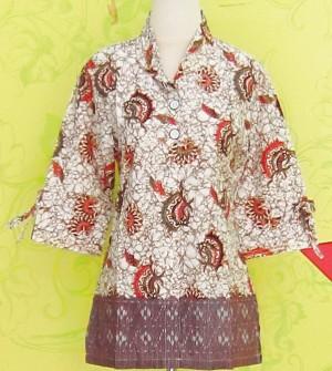 Blouse Batik C0151 Coklat
