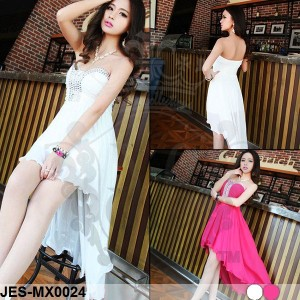 JES-MX0024 longdress maxi dress sexy import korea-gaun pesta wanita