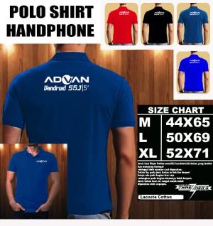 Polo Shirt Gadget/Hp Advan Vandroid S5J FONT/Kaos Kerah/Baju Kerah