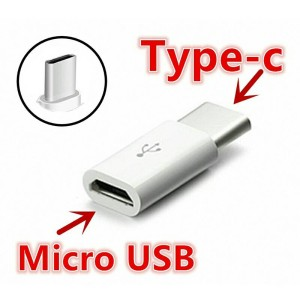 adapter micro usb to usb 3.1 type c / otg type c / konverter / android