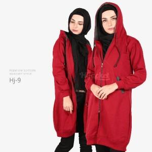 HIJACKET ORIGINAL SERIES MAROON - MISTY (HJ-9) Jaket / Sweater Wanita