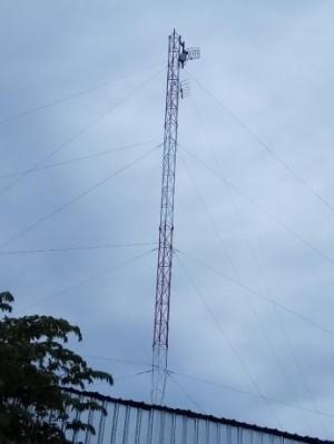 Tower bts profider internet