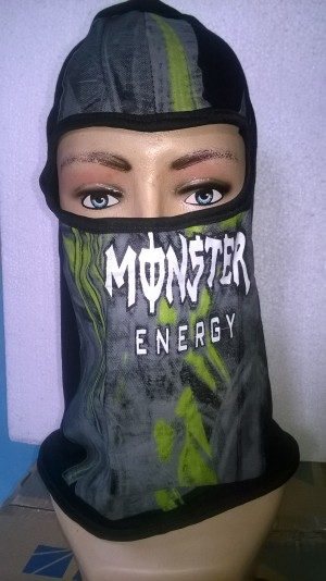 Masker Motor Ninja Printing Bermotif