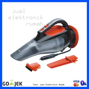 ... Harga Black Decker Vacuum Cleaner Vm1450b1 Hitam Khusus Source Portable Hand Car Vacum Black Decker