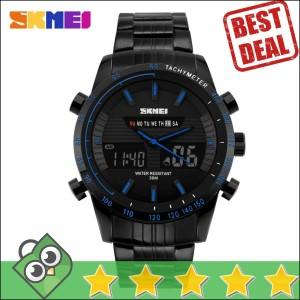 Jam Tangan Pria Dual Time SKMEI Multifunctional Watch Original AD1131