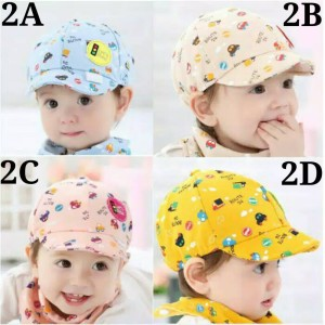 Topi Bayi / Topi Anak / Topi Pet / Topi Baseball / Baby Hat