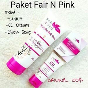 Paket Shining Fair N Pink paket perawatan kulit .