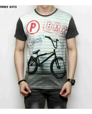 Kaos/Baju/Tshirt Fullprint 3D Thailand Sepeda BMX Zone