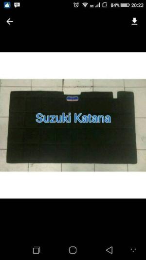 Suzuki Katana Peredam hitam kap mesin