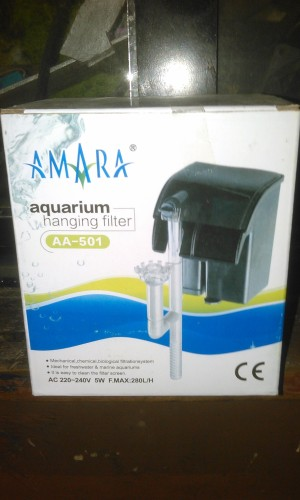 aquarium hanging filter amara aa- 501