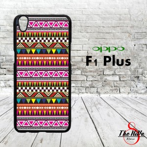 Pattern Aztec 0872 Casing for Oppo F1 Plus | R9 Hardcase 2D