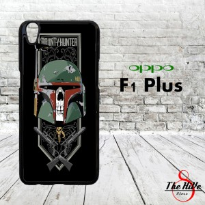 Star Wars Bounty Hunters Skull 0384 Casing for Oppo F1 Plus | R9 Hardc