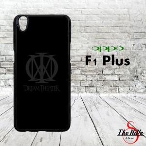 Dream Theater Logo Black 0376 Casing for Oppo F1 Plus | R9 Hardcase 2D