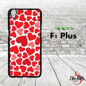 Pattern Love 0854 Casing for Oppo F1 Plus   R9 Hardcase 2D