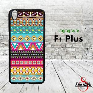 Pattern Pastel Tribal 0865 Casing for Oppo F1 Plus | R9 Hardcase 2D