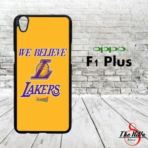NBA LA Lakers We Believe LA 0015 Casing for Oppo F1 Plus | R9 Hardcase