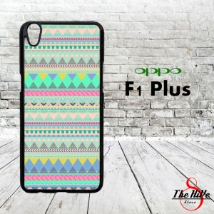 Pattern Hippies 0871 Casing for Oppo F1 Plus | R9 Hardcase 2D