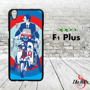 Vespa Edition 0047 Casing for Oppo F1 Plus | R9 Hardcase 2D