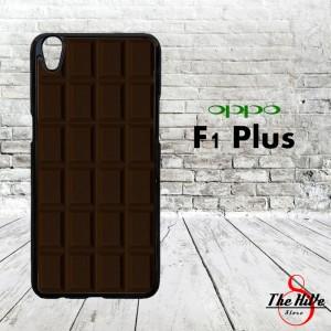 Wonka Bar Dark Cocholate 0117 Casing for Oppo F1 Plus | R9 Hardcase 2D