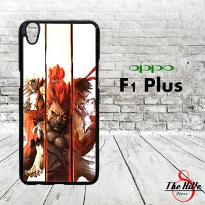 Street Fighter 0413 Casing for Oppo F1 Plus | R9 Hardcase 2D