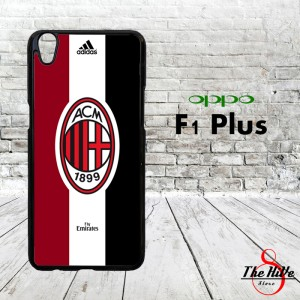 AC Milan Logo with Adidas 0035 Casing for Oppo F1 Plus | R9 Hardcase 2