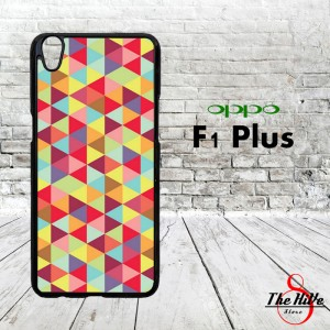 Pattern Colourful 0888 Casing for Oppo F1 Plus | R9 Hardcase 2D