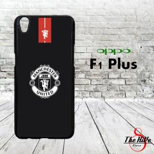 Manchester United Logo Black 0045 Casing for Oppo F1 Plus | R9 Hardcas