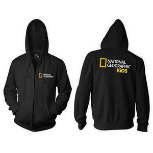 Zipper Hoodie National Geograpic Kids -geminicloth