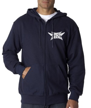 Hoodie Zipper Band Jepang Baby Metal Navy -geminicloth
