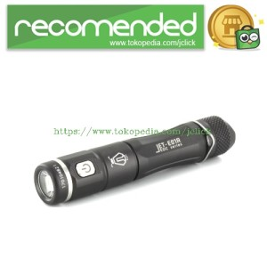 JETBeam E01R Senter LED CREE XP-G2 138 Lumens - Black
