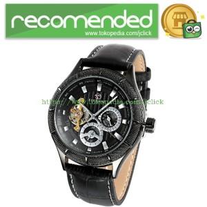 ESS Jam Tangan Mechanical - WM457/458 - Black/Black