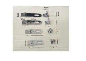 Hasplock / Gembok / Overplat / Overpal plus kunci HASP001 D
