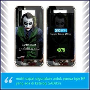 Garskin HP gambar Joker 2 stiker
