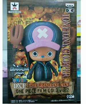 DXF GLM Tony Tony Chopper One Piece film Gold