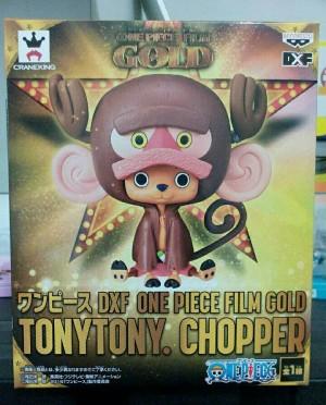 DXF Tony Tony Chopper One Piece film Gold