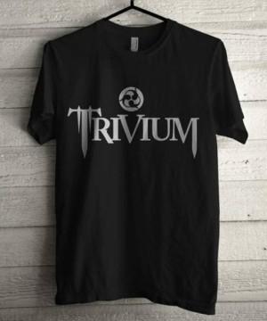 kaos band/musik/trivium/baju/tshirt